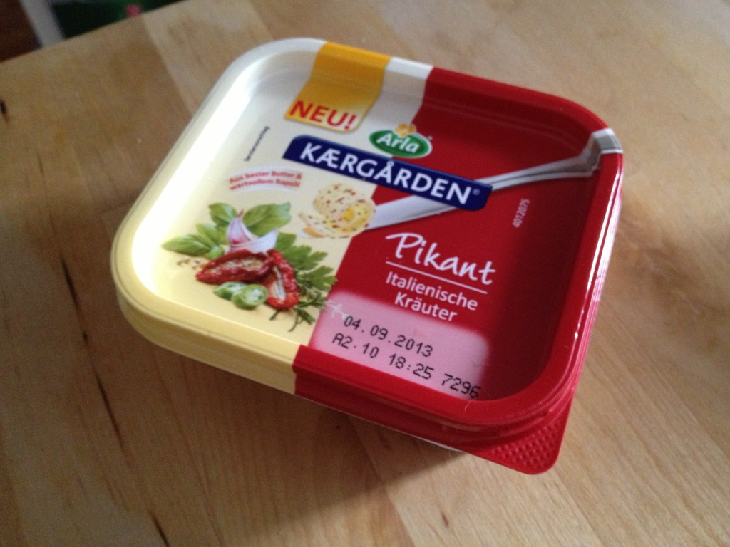 Arla Kaergarden Butter Pikant - Italienische Kräuter