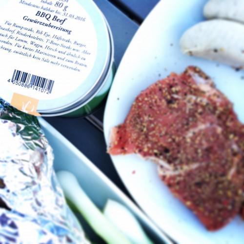 BBQ Beef Gewürzmischung mit Rindersteak