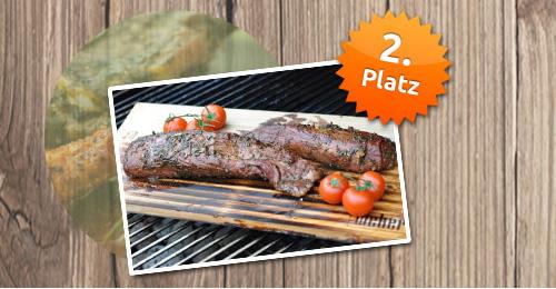 Sparwelt Grillmeister 2014 Platz 2: Rosmarin-Balsamico Schweinefilet