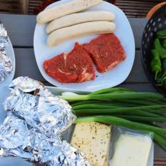 Gemüse in Alufolie, Grillkäse, Steaks, Würstchen & Co - was grillen wir in 2015?