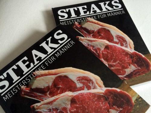 So sieht es von außen aus: das BEEF! Steaks Buch