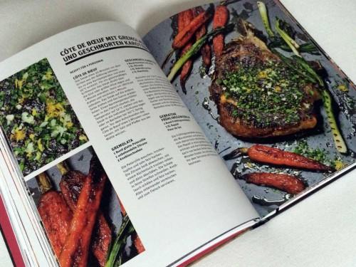 Cote de Boeuf aus dem Buch BEEF! Steaks