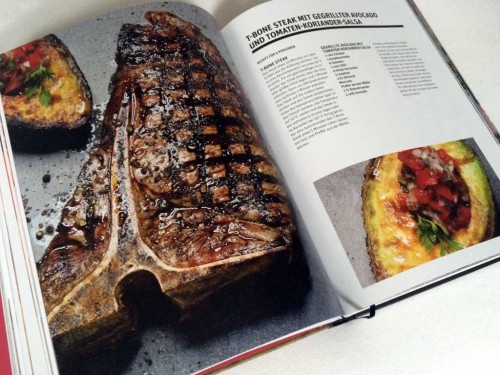 T-Bone Steak aus dem Buch BEEF! Steaks