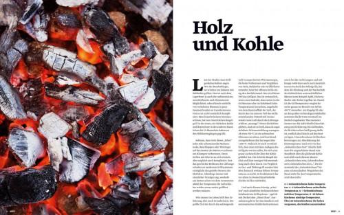 BEEF GRILLEN Holz und Kohle