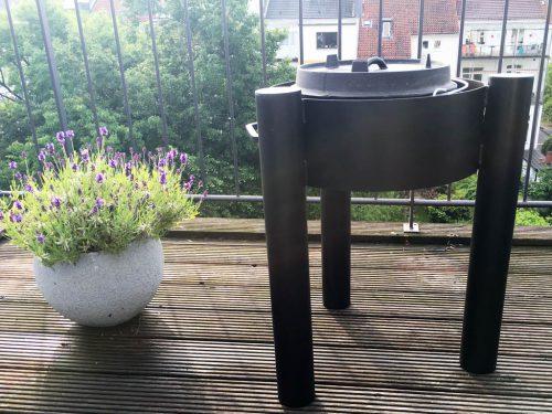 flammo Feuerschale mit Petromax ft6 Dutch Oven Feuertopf
