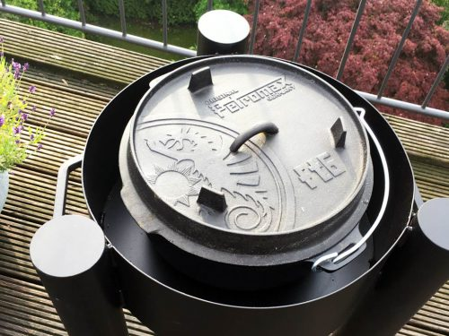flammo Feuerschale Dutch Oven - mit Petromax ft6 passt perfekt!
