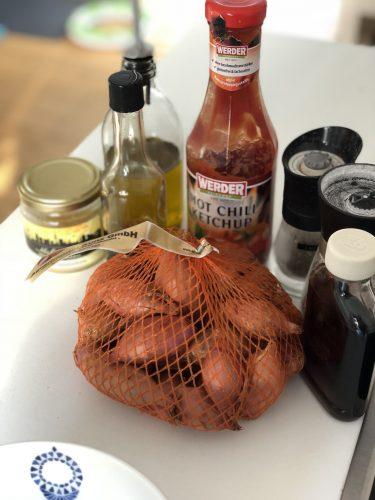 Zutaten für die Hot Chili Marinade