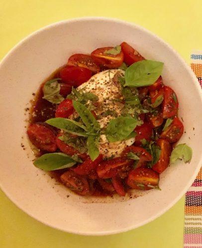 Tomaten Burrata Salat